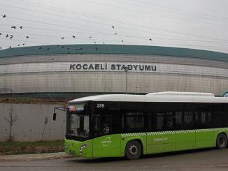 transport without transfer to the Kocaeli Stadium