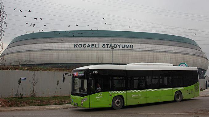 Transport ohne Transfer zum Kocaeli-Stadion
