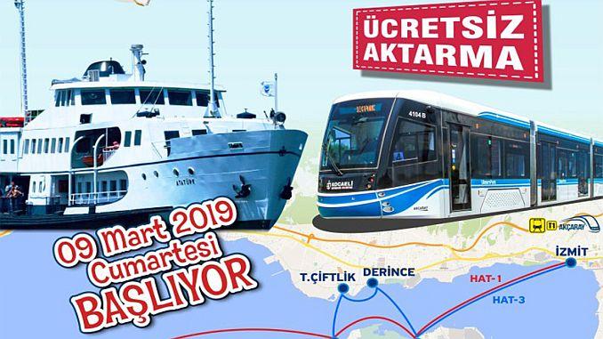 δωρεάν εφαρμογή μεταφοράς από το λιμάνι στο τραμ