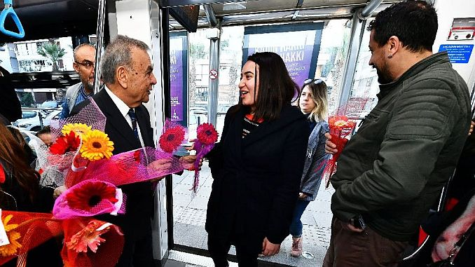 Kocaoğlu's Tram Passenger Surprise for Women