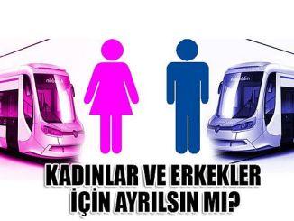 tram auto's voor mannen en vrouwen in Turkije?