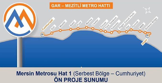 project details of Mersin metro