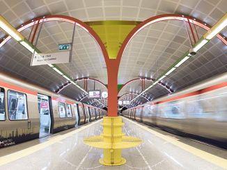 kè kontan nan akò kolektif nan métro Istanbul
