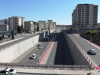 narlidere viyaduk and koprulu junction toren was opened to service