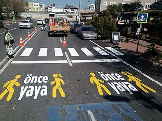 once pedestrian project started
