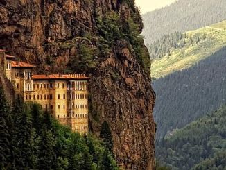 the first part of the sumela monastery is opening