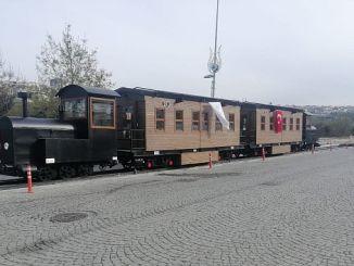 la ligne de chemin de fer historique de kagithane prend vie