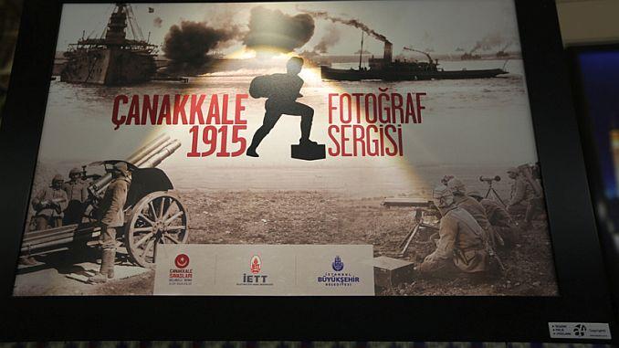 otwarta wystawa zdjęć tunelde canakkale