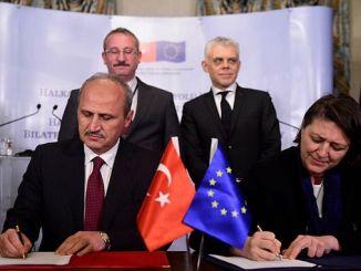 Високоскоростна железопътна линия ще свързва със страните в ЕС Турция