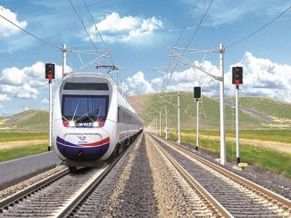 i face of the rail infrastructure in Turkey and electrical signals