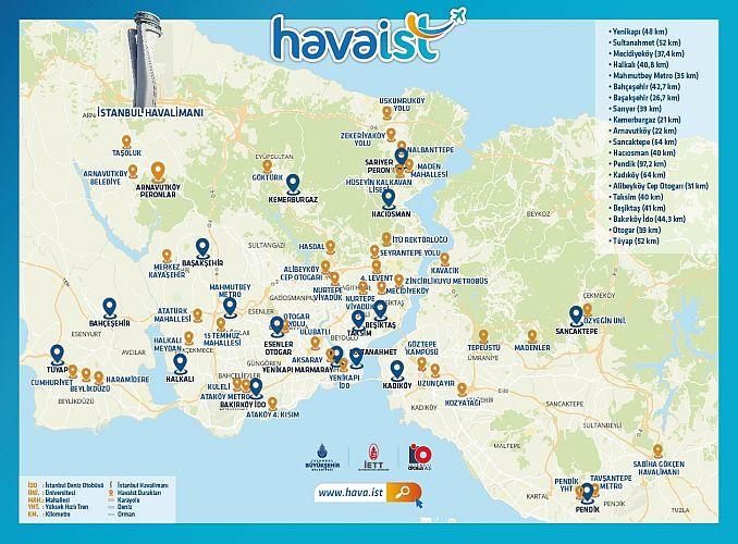Havaist Line Map