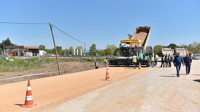 road works in the bursa