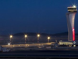 Istanbul airport began to pay toll parking