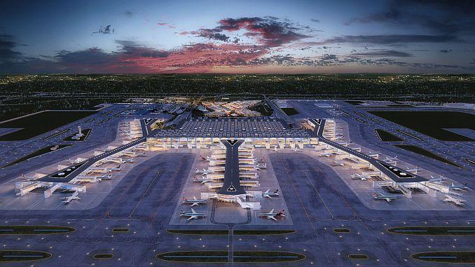 Heizölversorger Tupras des Flughafens von Istanbul