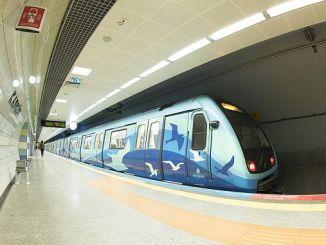 μετρό στην Κωνσταντινούπολη