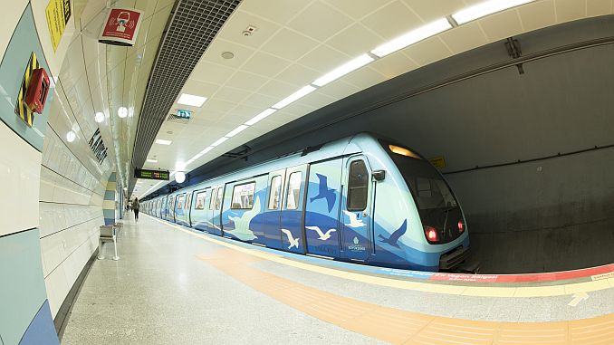 istanbulda gercekte metro uzunlugunun km