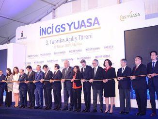 اليابانية gs yuasadan manisaya مليون TL الاستثمار