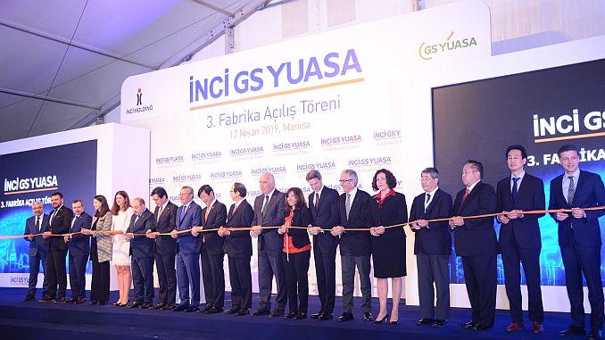 japanese gs yuasadan manisaya million TL investment