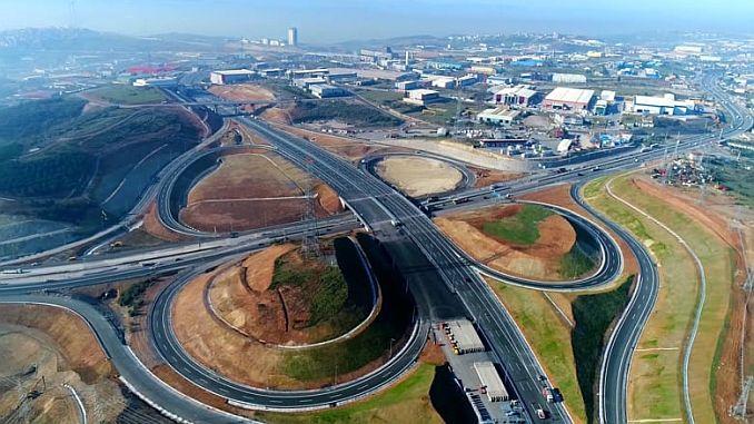 hele den nordlige marmara motorvej vil være i drift