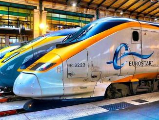 high speed train mans tunelinin eurostar