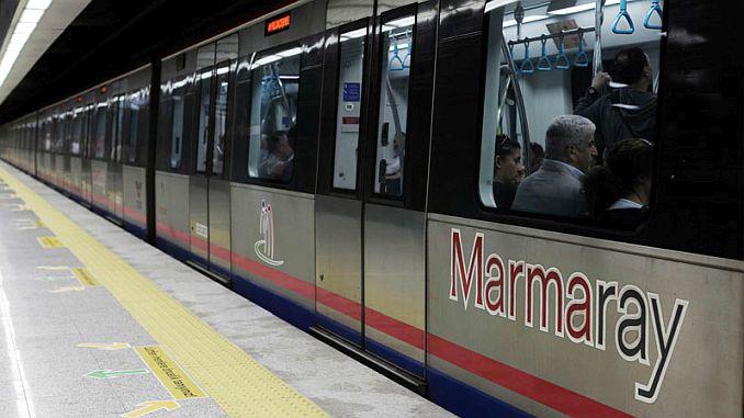 marmaray wird die sogutlucesme station für den passagier verwenden