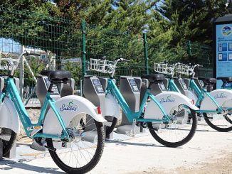 La aplicación de bicicleta inteligente Sakarya sirve en diferentes puntos.
