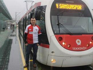 samsunspor sariyer maci icin tramvay saat ucretsiz