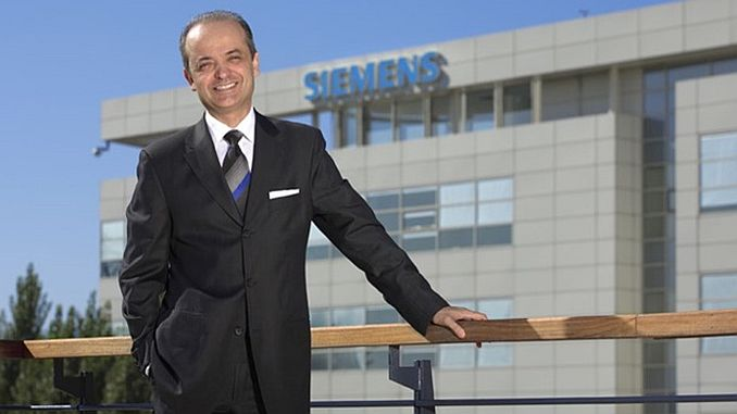 Siemens CEO turkey developing everyone in distress