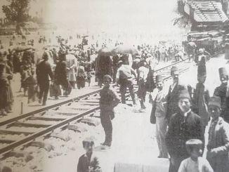 أبريل anadolu bagdat السكك الحديدية