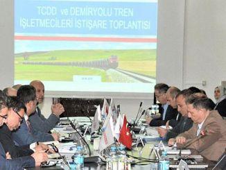 tcdd hosts railroad train operators meeting