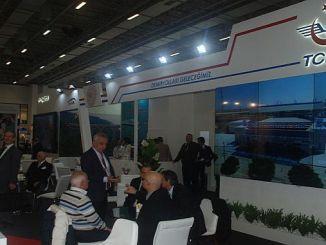 tcdd stand at eurasia rail fair