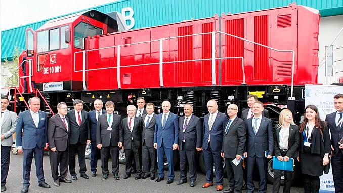 Marca tulomsas en la locomotora de maniobra eléctrica nacional.