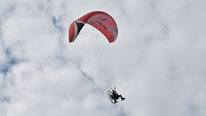 bursa turkey paramotor slalom competition will take place