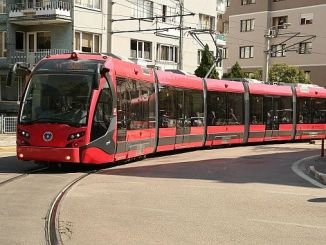 turkiyede town on the rail lines and serving status of the vehicle