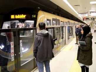 Первый неуправляемый turkiyenin метро