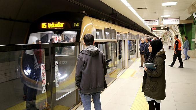 The first driverless metro turkiyenin