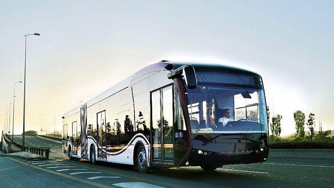 marca nacional y nacional de bus eléctrico de la marca sileo.