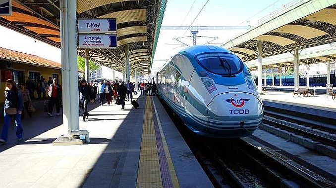 There is a high demand for high-speed train.