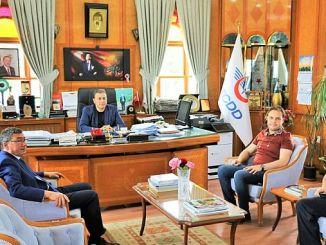 الرئيس جوكتين TCDD يزور محطة Eğirdir التاريخية