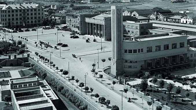 Полага се основата на новата сграда на администрацията на Държавните железници в Анкара