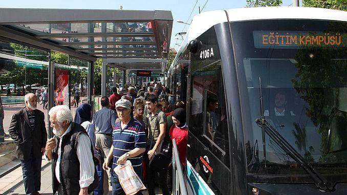 akcaray hat Straßenbahnrekorde um eine neue erweitert