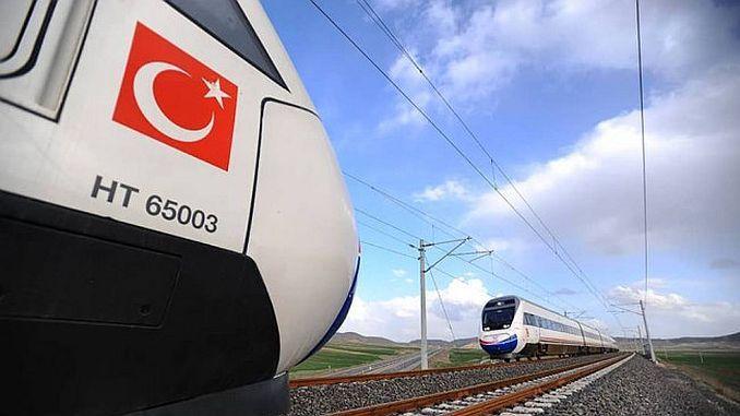 سوف Aksalu سرعة القطار ربط تركيا ARF