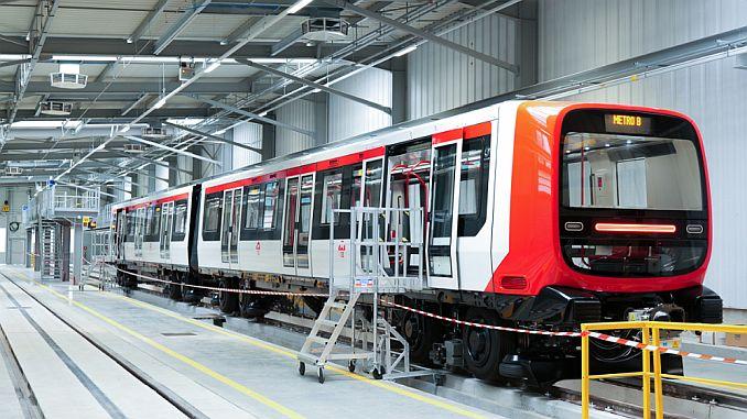 एलस्टॉमने लिओन मेट्रोसाठी नवीन पिढी ट्रेन दिली आहे