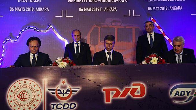 Turhan Baku Tiflis Kars Railroad Reconciliation Officer