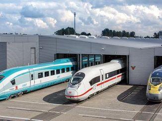 Tomaremos los trenes rápidos de Alemania.