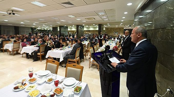 Turhan has attended the iftarina of the general public