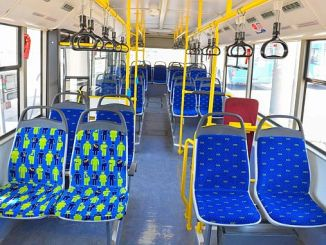 Special seats for private passengers on ego buses