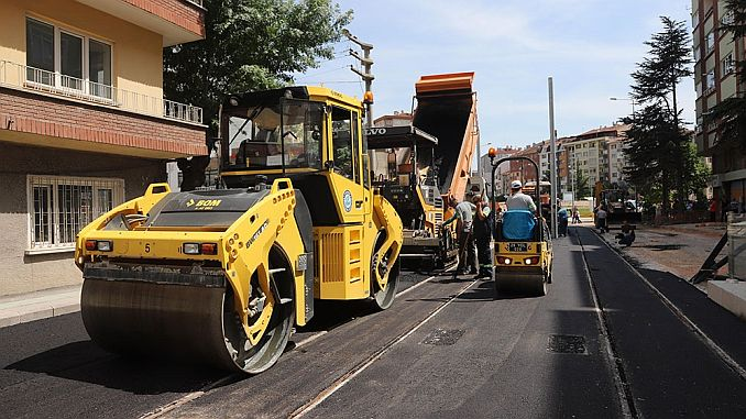 Eskisehir continues to work on new tram lines