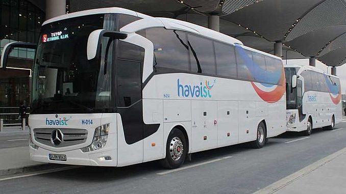 transport në aeroportin e Stambollit