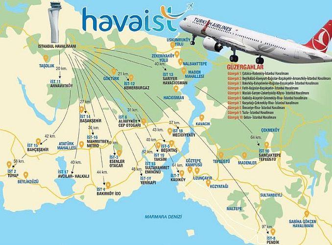 Transport zum Flughafen Istanbul